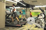 Ameren's fitness center is open 24 hours a day, seven days a week.