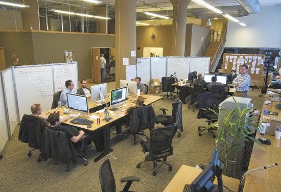 Asynchrony has outgrown their current office space at 1701 Washington Avenue.