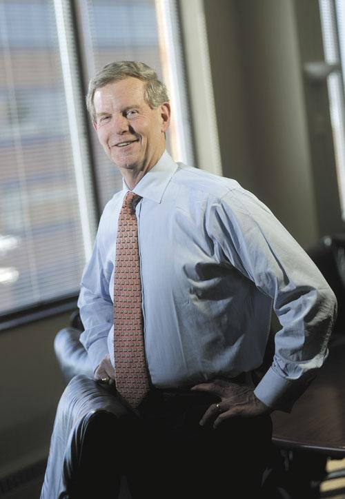 President and CEO Peter Benoist