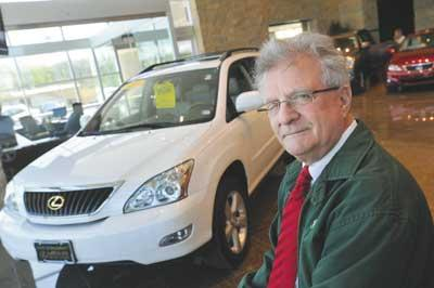 Don Levin said Mungenast Automotive is expecting 50 percent of its normal deliveries.