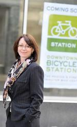 Partnerships bring commuter bike station to fruition
