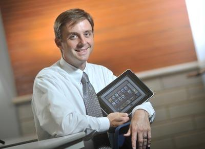 Zach Clark, director of advancement at Westminster Christian Academy
