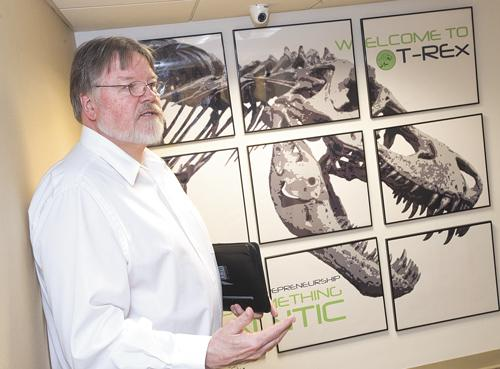 Kevin Ferrell wants the T-REx to become an epicenter of innovative companies downtown.