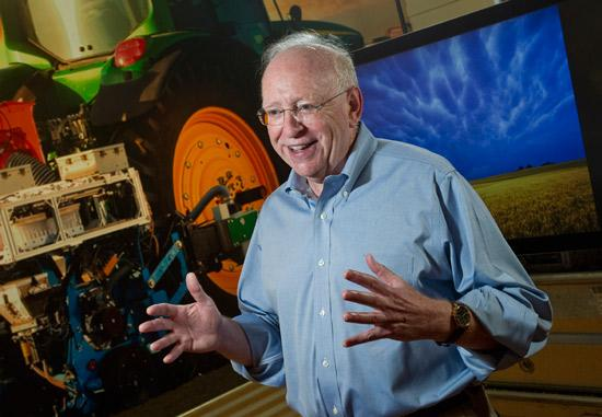 Monsanto's David Fischhoff worked on first-generation products commercialized in the '90s.