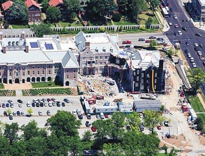 The bond issue includes $23 million for building projects, including Preston M. Green Hall.
