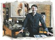 Photographer Rob Grimm bought his space at 3005 Locust for $167,000 in 2003.