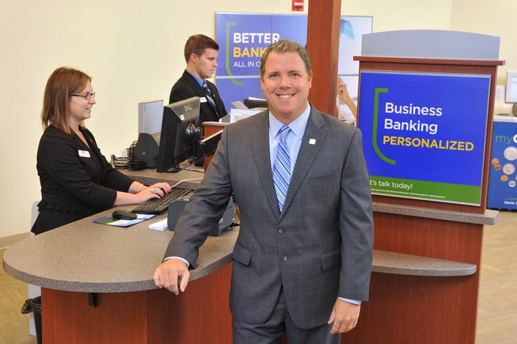 Fifth Third's Shawn Hagan hopes to push the bank into the top three in deposit share in St. Louis. Currently, it's ranked 16th.