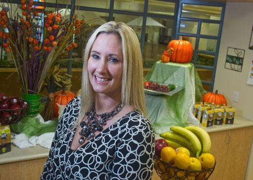 Mercy Health's LeAnn Harris said the health-care provider created a standardized menu across all company cafeterias that helps employees count calories.