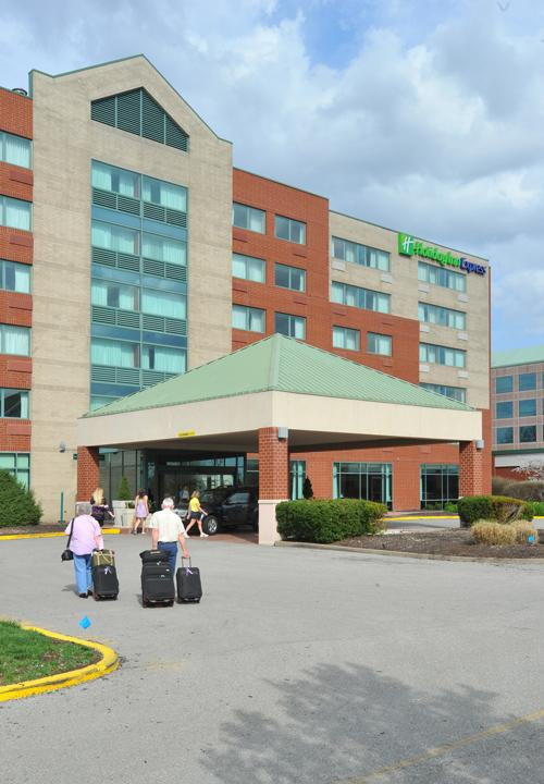 A Holiday Inn Express will be built at Southpointe near the Hilton Homewood Suites, the Observer-Reporter newspaper in Washington, Pa., reported.