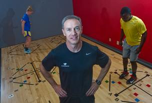Dale (pictured) and Ellie Huff, who own NutriFormance, a fitness and health club, and the St. Louis Athletic Republic franchise, which provides sports conditioning for athletes in grade school through college, report they are on track for $3 million in total revenue this year, up from about $2.7 million in 2011.