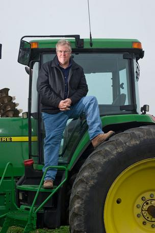Former banker Bill Hughes manages $100 million in farmland assets.