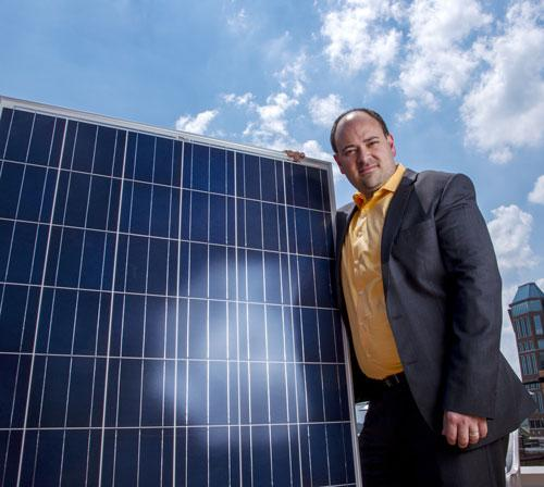 Microgrid Solar's CEO Rick Hunter founded the company in 2009 with an initial investment of $500,000. He expects revenue to reach more than $20 million this year. Microgrid employs 41 people at its St. Louis and Earth City offices.