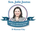 Sen. <strong>Jolie</strong> <strong>Justus</strong> • D-Kansas City