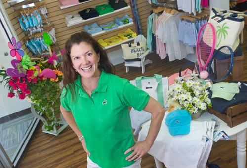 """Kirkwood's newly opened Fun in the Sun Sports & Leisure at 121 N. Kirkwood projects sales of $250,000 in 2012 after a strong opening last week. """"We're getting on the phone now to replenish and stock up for Father's Day,"""" said owner Nancy McGee, who led the St. Louis market for Banana Republic for 10 years."""
