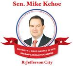 Sen. <strong>Mike</strong> <strong>Kehoe</strong> • R-Jefferson City