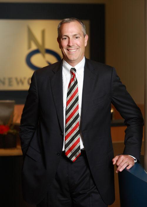 """President and CEO Kevin Blair: """"The strategy we have to diversify was dead on to help us survive."""""""