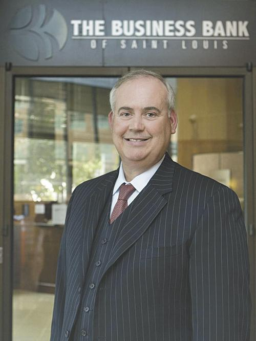 Larry Kirby, president and CEO of Business Bancshares