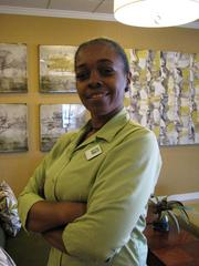 Lydia Ivory, assistant housekeeping supervisor, Holiday Inn St. Louis Forest Park