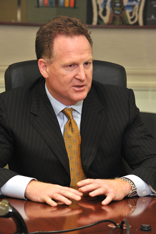 Mallinckrodt CEO and PresidentMark Trudeau.
