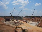 McCarthy is currently laying the foundation for the $347 million Mercy hospital in Joplin, Mo.