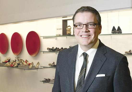 """Saks General Manager Doug Moss says store remodel will bring a """"New York point of view"""" to St. Louis."""