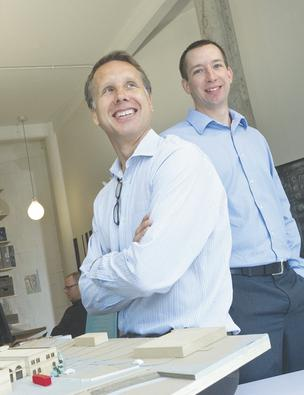 John Mueller and Jon Emert of JEMA + Campos Design expect to post a 20 percent sales increase over 2011.