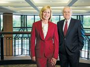 Enterprise Executive Chairman Andy Taylor said he realized Pam Nicholson had what it takes to run the rental car company after she successfully integrated the Alamo and National brands with Enterprises' operations in 2007.
