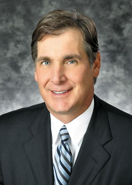 Jim Regna, president and CEO of Triad Bank in Frontenac