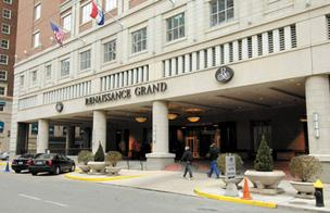 The hotel's occupancy rate in 2010 was 52.1 percent with an average room rate of $120.69.