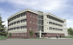 SIUE science building rendering