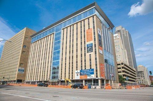100 N. Tucker, future home of St. Louis University's School of Law