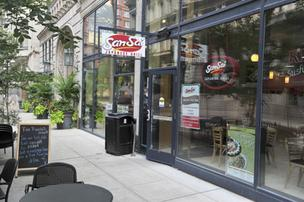 The SanSai Japanese Grill downtown is among five St. Louis locations included in the Chapter 11 bankruptcy filing.
