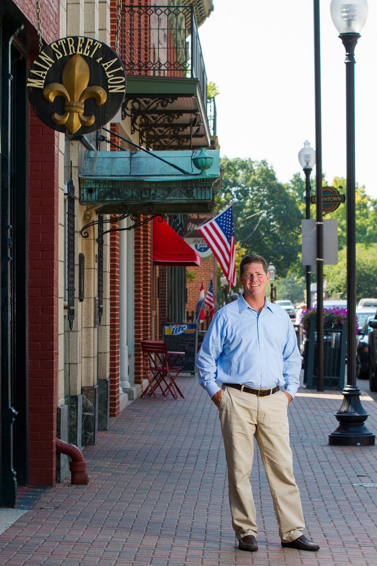 With $5 million invested, Randy Schilling has brought more than 100 employees to St. Charles' historic Main Street. And he's not done yet.