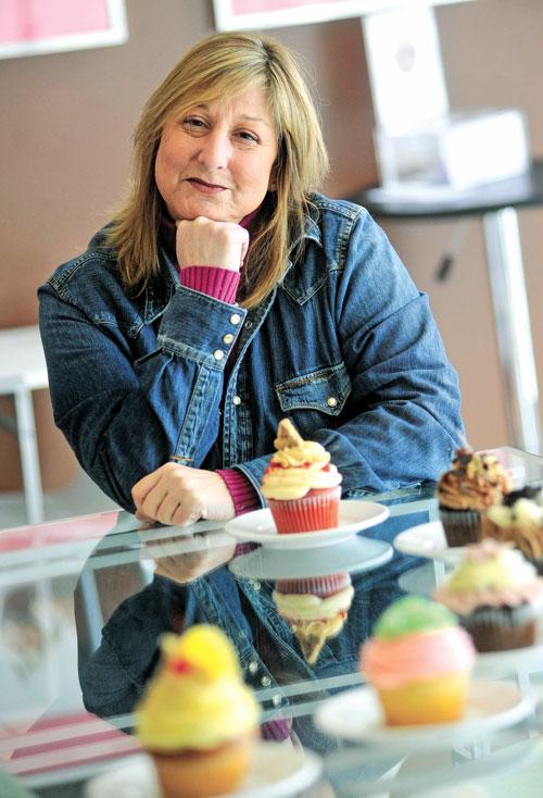 Jill Segal's Jilly's Cupcake Bar has made three appearances on the Food Network .