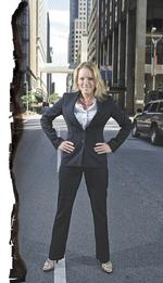 Fired up: Laclede CEO Suzanne Sitherwood stands ready to acquire utilities