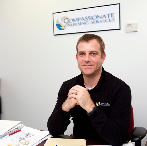 Compassionate Nursing Services,Owned by Matt Skaggs, the firm specializes in Alzheimer's, ALS, cancer and stroke patients.