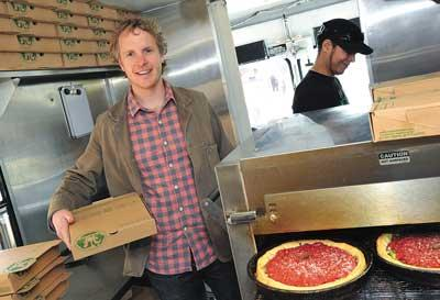 Chris Sommers, owner of Pi Pizzeria