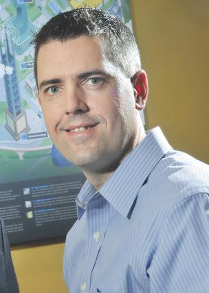 Aaron Stone, 39, CEO and co-founder of Netelligent Corp., a Chesterfield-based networking, telephone, collaboration/video, data center/servers/storage, virtualization and wireless solutions provider founded in 2003.
