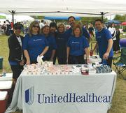 Members of UnitedHealthcare's sales team participated in the Parkway School District's Shape Up event.