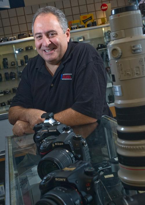 There's lots to celebrate at Creve Coeur Camera, owner Stephen Weiss (above) reports. It is opening its 10th store Nov. 2, in Springfield, Ill. It is on track to reach $18 million in sales this year and expects Springfield will add $2 million. And it sells more than 50 percent of all cameras in the St. Louis metro, according to research company NPD Group. Crestwood store manager Matt Nolte and assistant manager Mike Steuart  will relocate to Springfield.