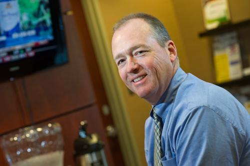 Montgomery Bank CEO Ken Witbrodt said it's difficult to sell foreclosed property at almost any price.