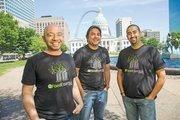 Dagan Xavier, Dheeraj Patri and Ronak Sheth of Food Essentials.