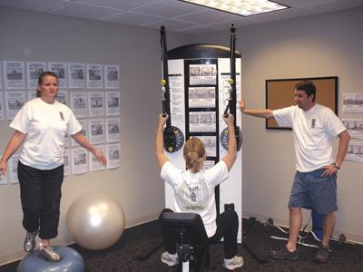 AHM Financial Group recently added a wellness center to its St. Louis offices.