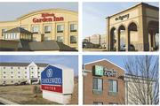 Miles and Shelton developed the Regency Conference Center as well as three hotels: the Candlewood Suites and Holiday Inn, both of which they've since sold, and the Hilton Garden Inn.