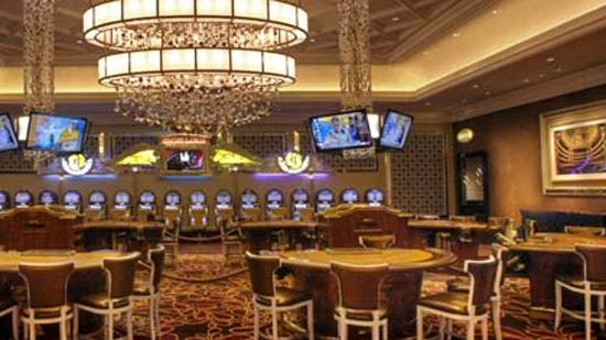 The High Limit Room at River City Casino in Lemay, the only St. Louis area casino that saw a revenue increase in April.