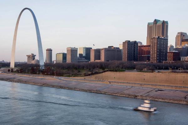 Renovations at the Gateway Arch grounds won't be completed until 2016.