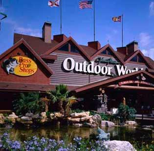 Bass Pro Shops is opening a store in St. Johns County in 2014.