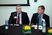 Panelists David Ritzert with Pender Newkirk & Co. and John Hill, Hyde Park Capital Partners