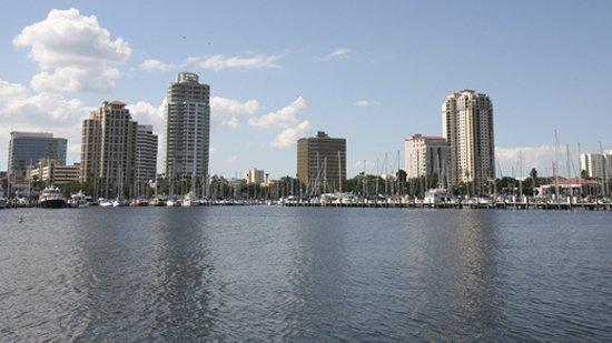 Downtown St. Petersburg waterfront