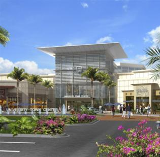 A rendering of University Town Center.